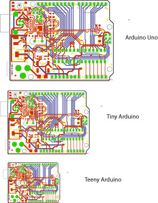 Read more: Tiny Arduino